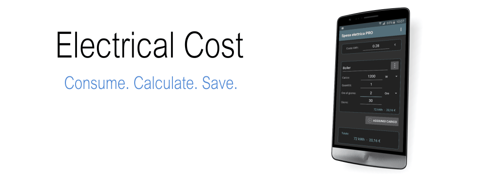 Electrical Cost App